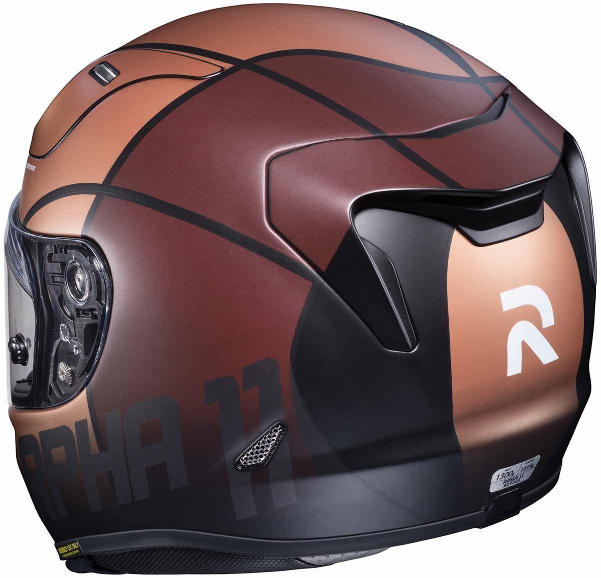 HJC-RPHA-11-Pro-Quintain-Helmet-Full-Face-DD-Ring-Fastening-DOT-ECE-XS-2XL thumbnail 4