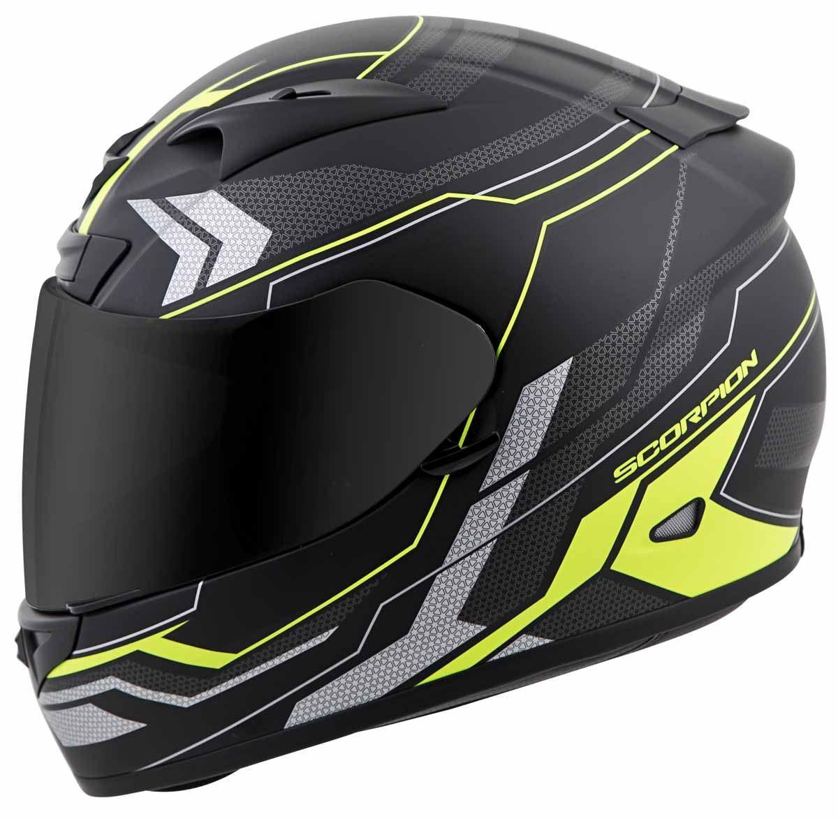 Scorpion-EXO-R710-Helmet-Fiberglass-Full-Face-DOT-SNELL-M2015-Certified-XS-2XL miniature 29