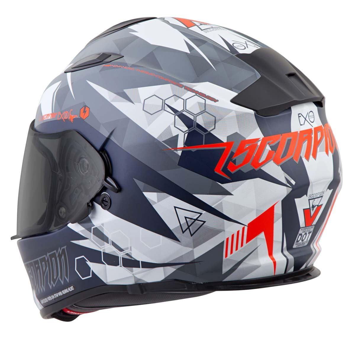 Scorpion-EXO-T510-Helmet-Full-Face-DOT-Approved-Inner-Sun-Shield miniature 51