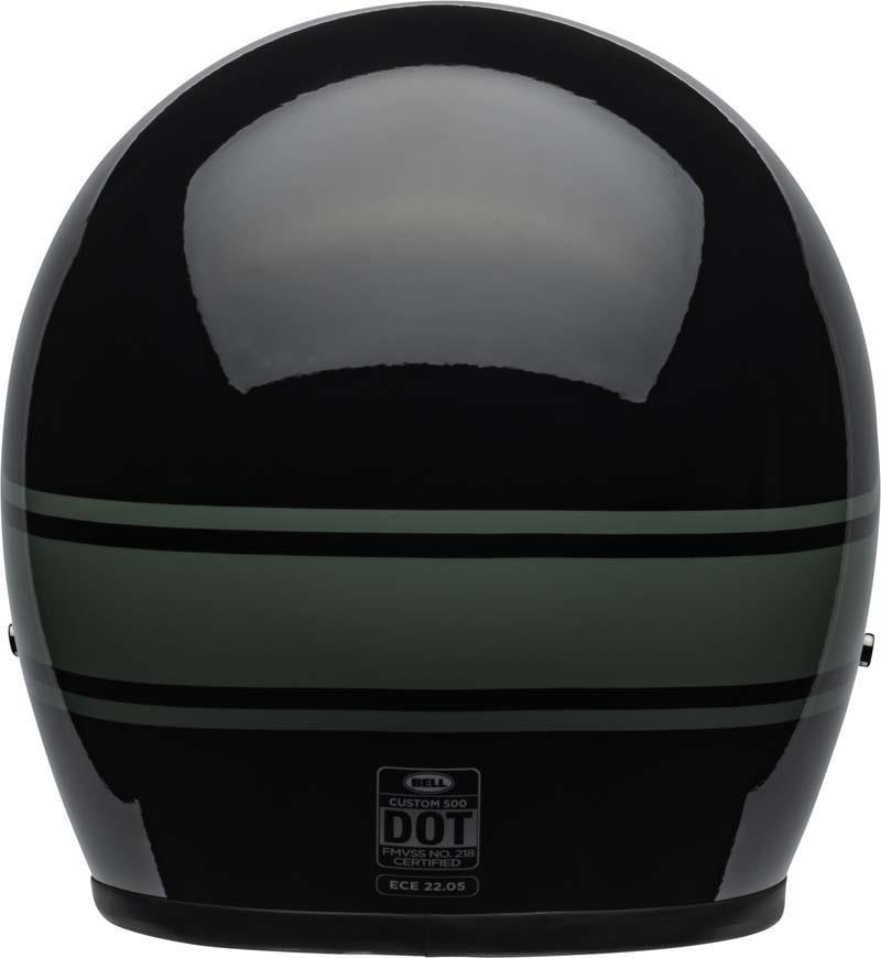 Bell-Custom-500-Helmet-3-4-Open-Face-Vintage-Retro-Motorcycle-5-Snap-XS-2XL miniature 34