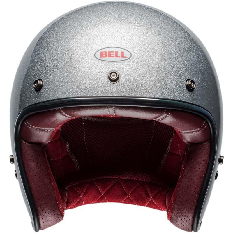 Bell-Custom-500-Helmet-3-4-Open-Face-Vintage-Retro-Motorcycle-5-Snap-XS-2XL miniature 22