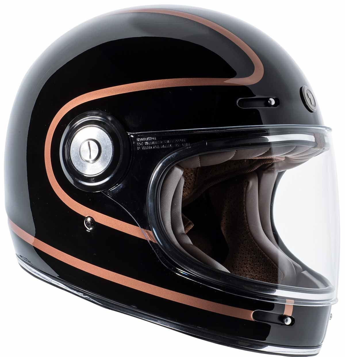miniature 19 - Torc T1 Helmet Retro Vintage Style Fiberglass DOT Approved XS-2XL
