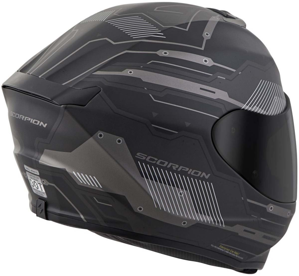 Scorpion-EXO-R420-Helmet-Removable-Liner-Air-Flow-DOT-SNELL-M2015-XS-2XL miniature 26