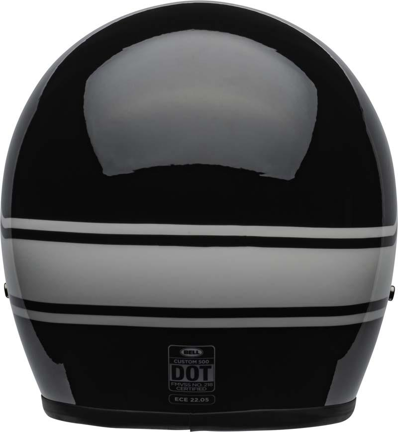 Bell-Custom-500-Helmet-3-4-Open-Face-Vintage-Retro-Motorcycle-5-Snap-XS-2XL miniature 41