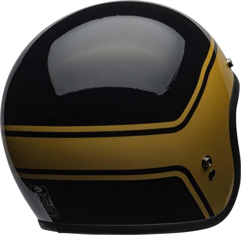 Bell-Custom-500-Helmet-3-4-Open-Face-Vintage-Retro-Motorcycle-5-Snap-XS-2XL miniature 47