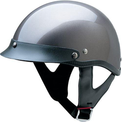 miniature 7 - HCI 100 Half Helmet Motorcycle Shorty with Visor DOT Approved XS S M L XL 2XL