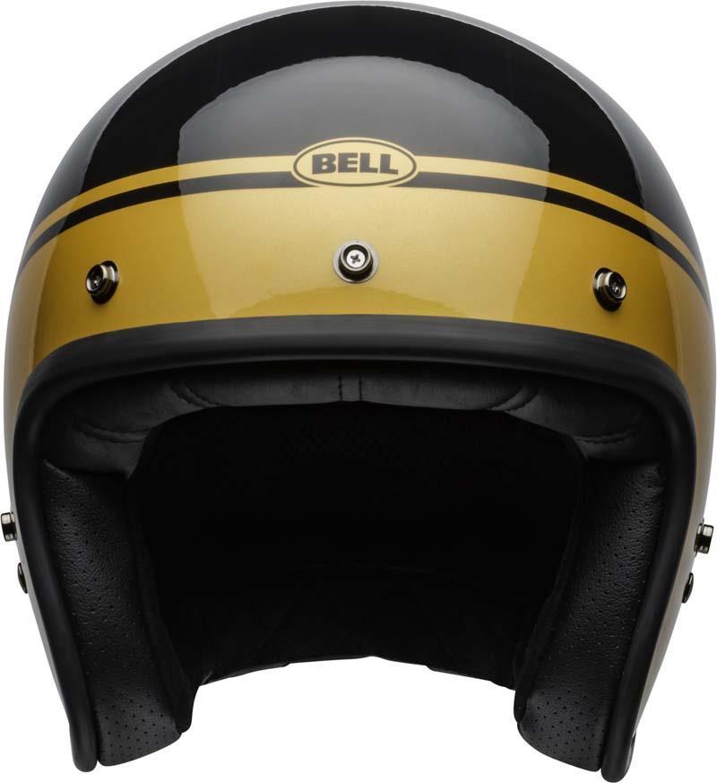 Bell-Custom-500-Helmet-3-4-Open-Face-Vintage-Retro-Motorcycle-5-Snap-XS-2XL miniature 44