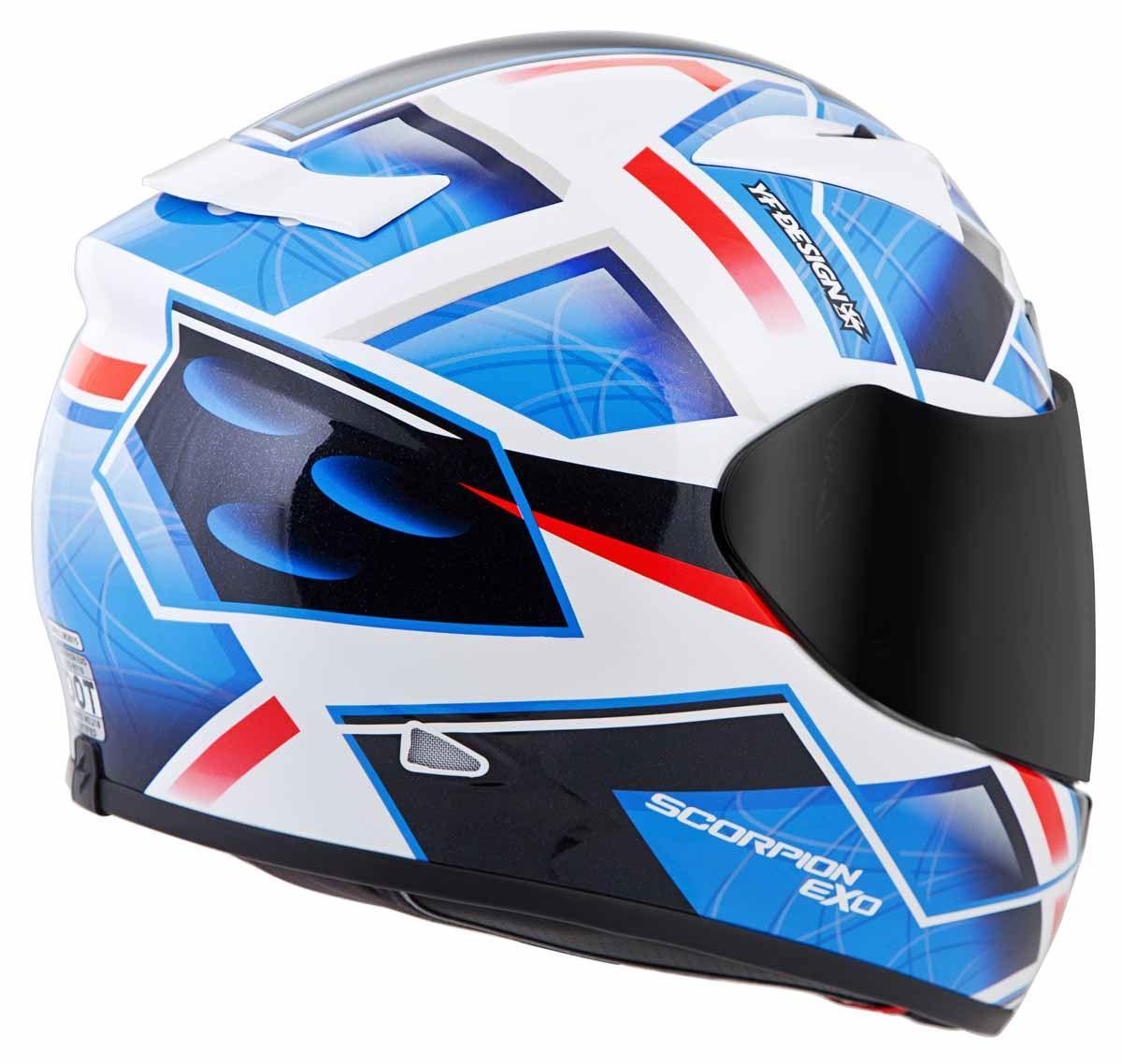 Scorpion-EXO-R710-Helmet-Fiberglass-Full-Face-DOT-SNELL-M2015-Certified-XS-2XL miniature 21