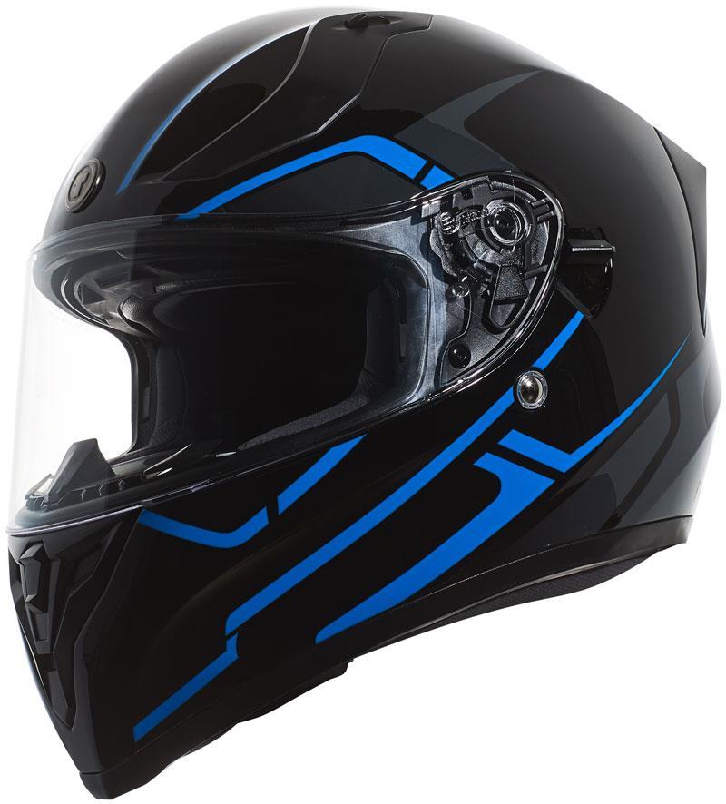 miniature 45 - Torc T15 T15B Helmet Bluetooth Blinc or without - Inner Sun Shield DOT XS-2XL