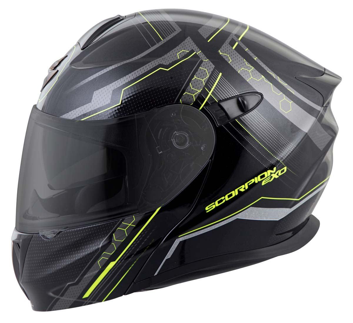 Scorpion-EXO-GT920-Helmet-Sport-Touring-Modular-Flip-Up-DOT-Approved-XS-3XL miniature 29