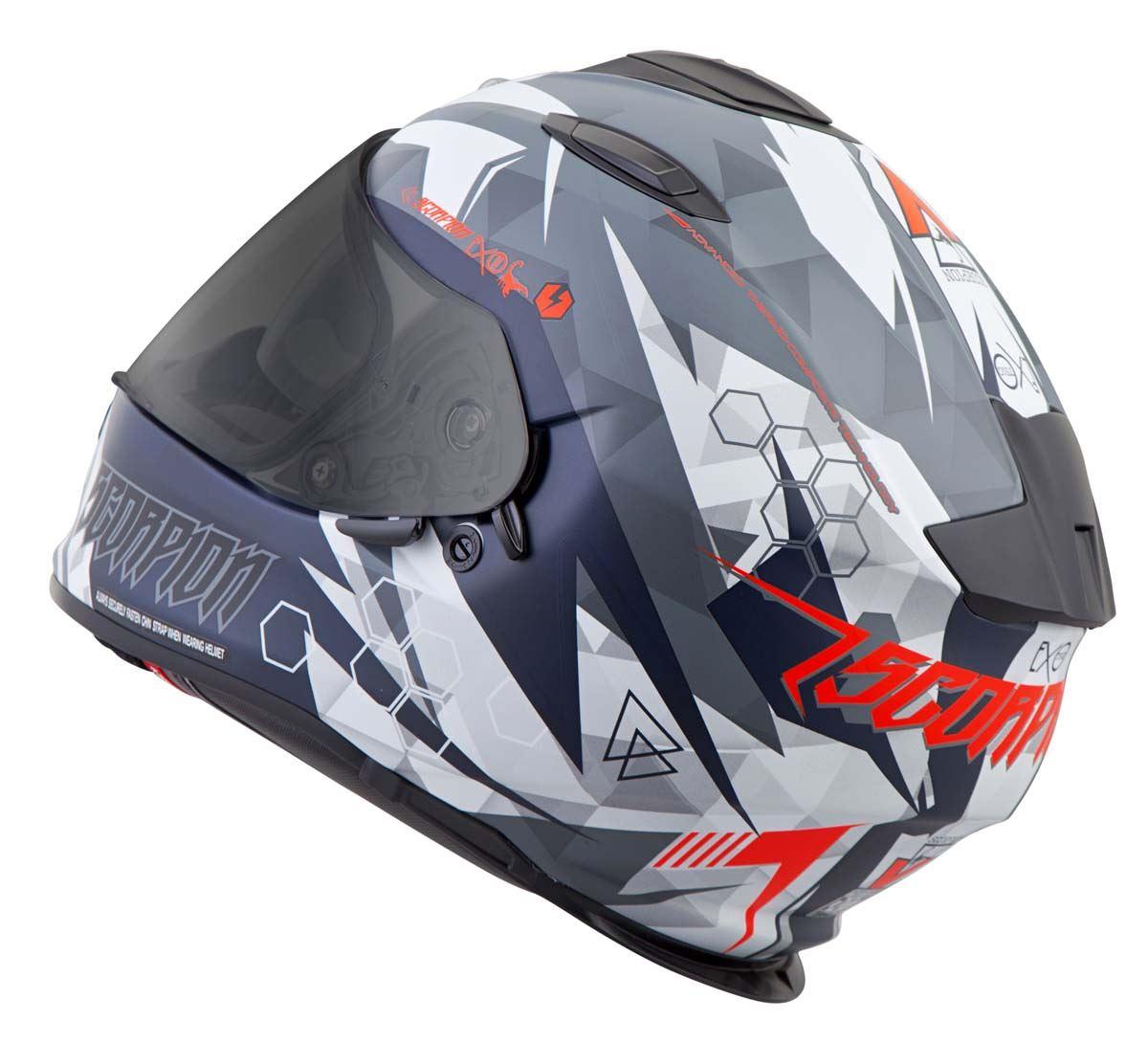 Scorpion-EXO-T510-Helmet-Full-Face-DOT-Approved-Inner-Sun-Shield miniature 53