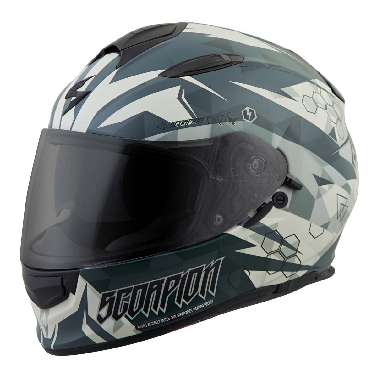 Scorpion-EXO-T510-Helmet-Full-Face-DOT-Approved-Inner-Sun-Shield miniature 57