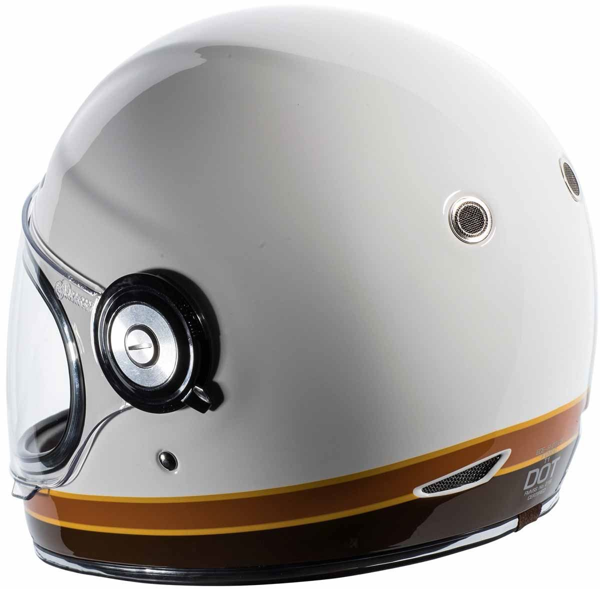 miniature 26 - Torc T1 Helmet Retro Vintage Style Fiberglass DOT Approved XS-2XL