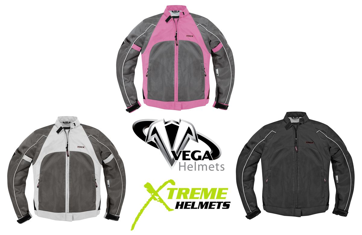 Vega Mercury Mesh Jacket Black