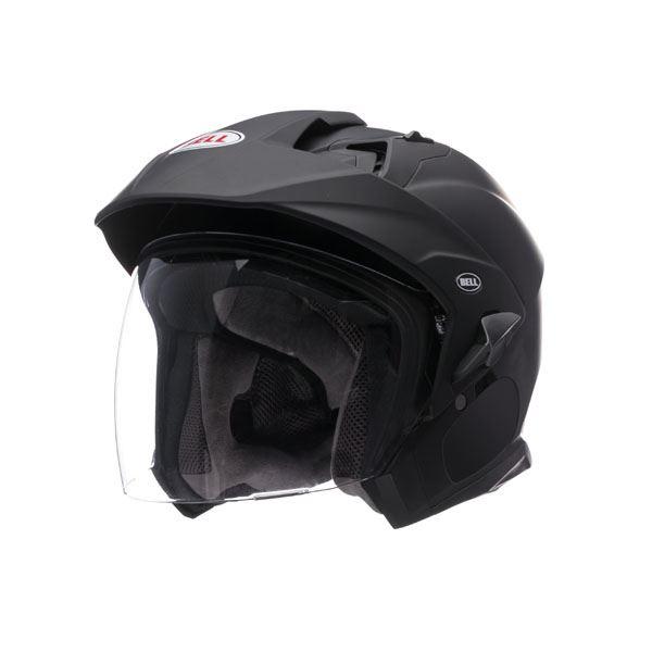 Bell-Mag-9-Helmet-Inner-Sun-Shield-Open-Face-Motorcycle-DOT-Sena-Cut-Out miniature 18