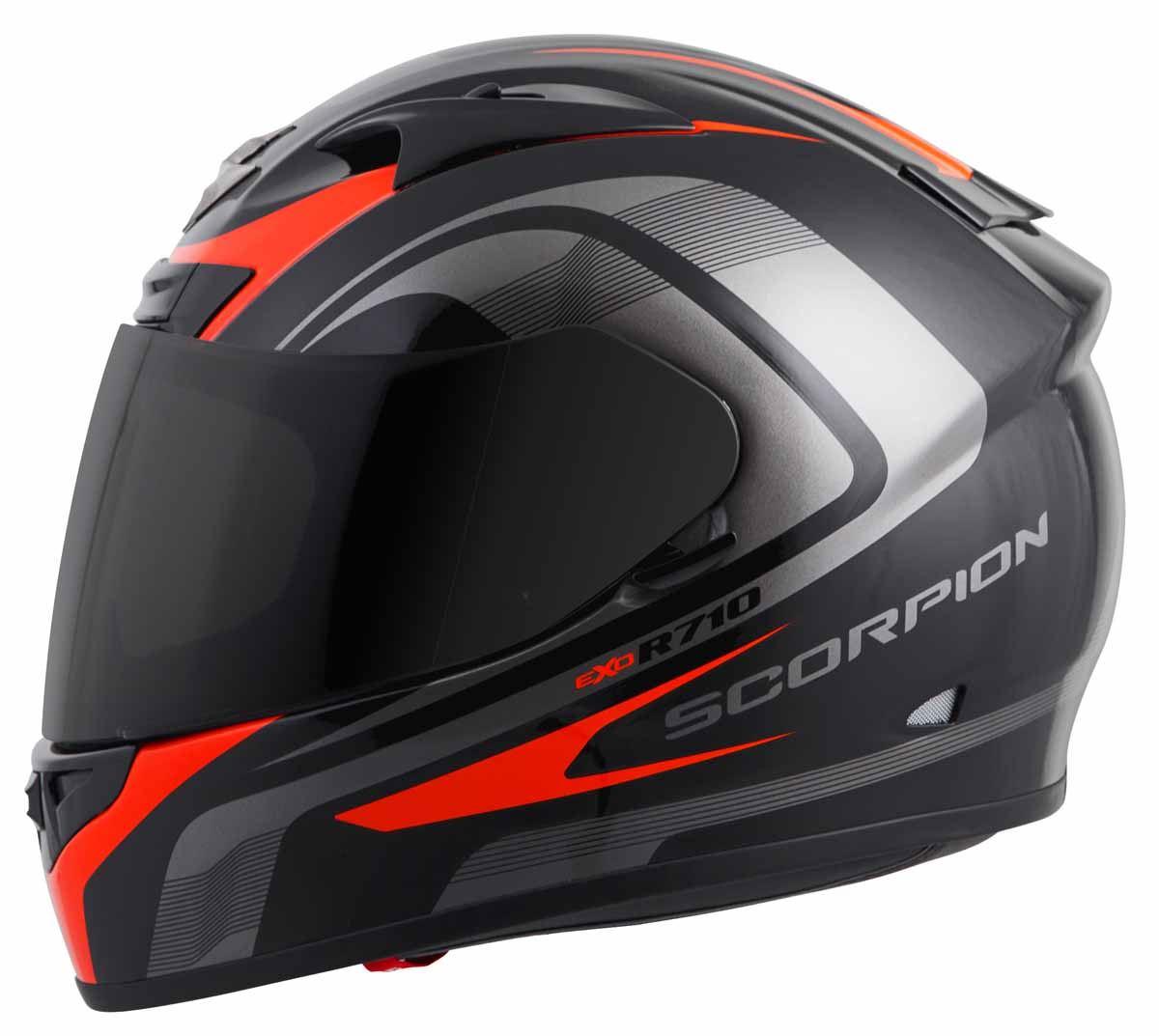 Scorpion-EXO-R710-Helmet-Fiberglass-Full-Face-DOT-SNELL-M2015-Certified-XS-2XL miniature 12