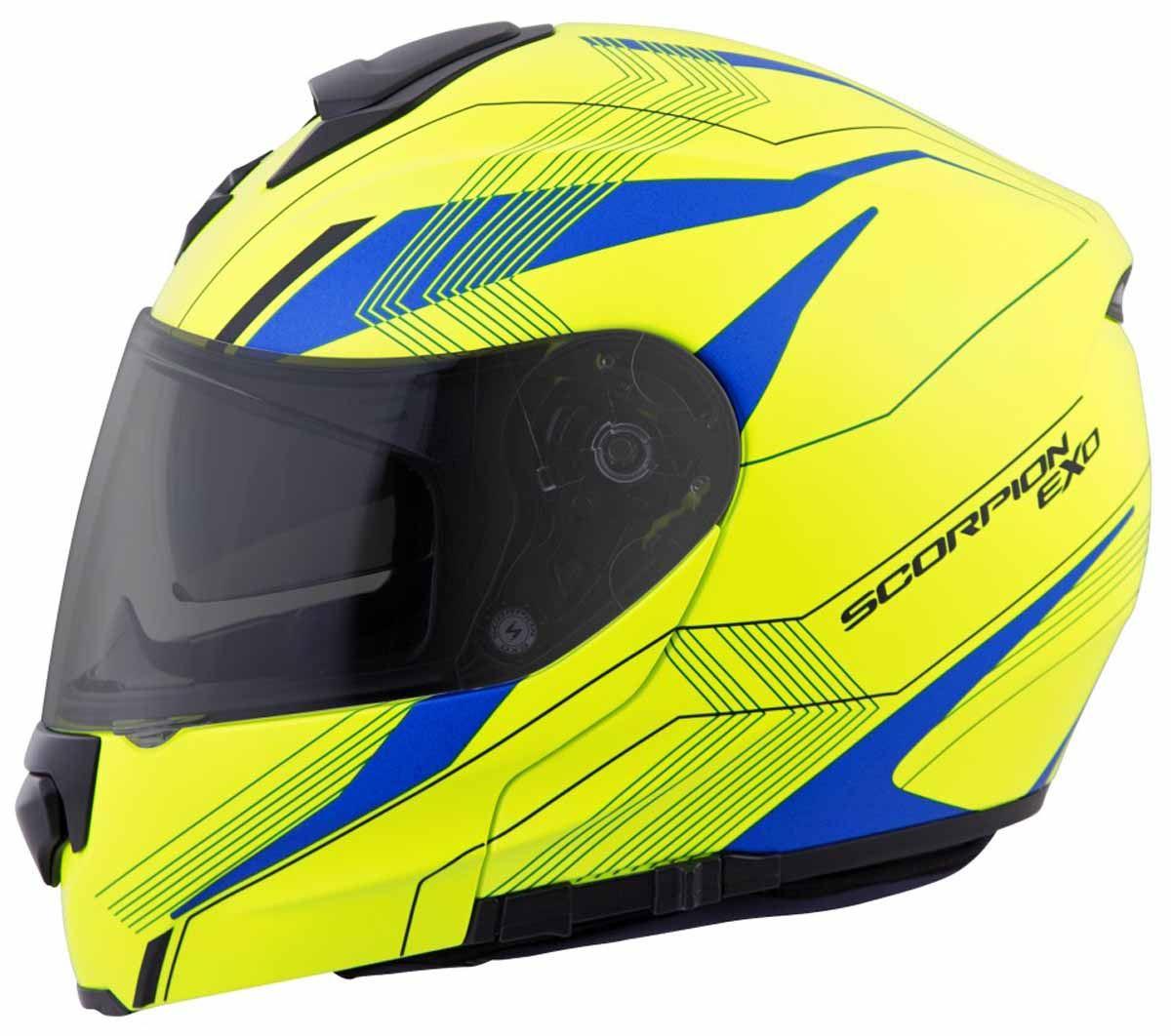 Scorpion-EXO-GT3000-Helmet-Modular-Flip-Up-Premium-DOT-Approved-XS-2XL miniature 29