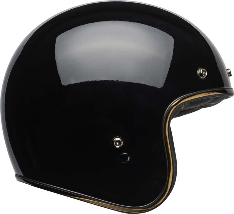 Bell-Custom-500-Helmet-3-4-Open-Face-Vintage-Retro-Motorcycle-5-Snap-XS-2XL miniature 53