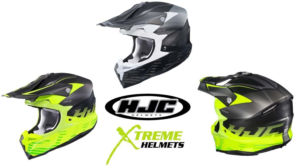 HJC i 50 Artax Helmet Dirt Bike Full Face Lightweight DOT ECE XS-2XL