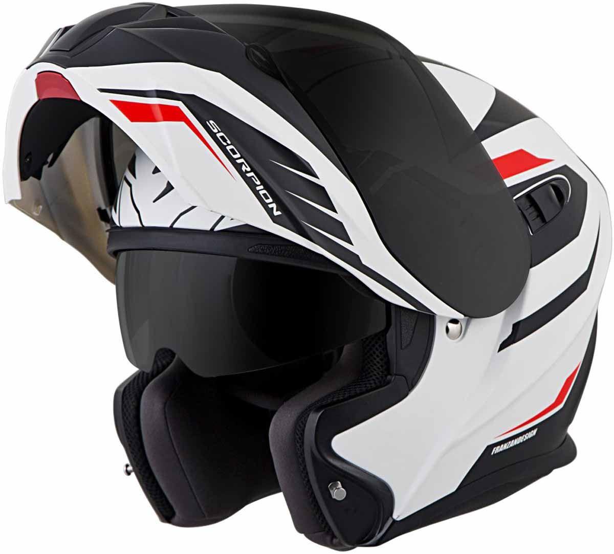 Scorpion-EXO-GT920-Helmet-Sport-Touring-Modular-Flip-Up-DOT-Approved-XS-3XL miniature 36