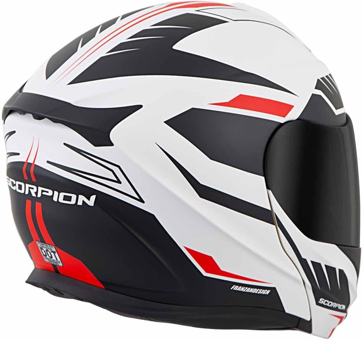 Scorpion-EXO-GT920-Helmet-Sport-Touring-Modular-Flip-Up-DOT-Approved-XS-3XL miniature 37