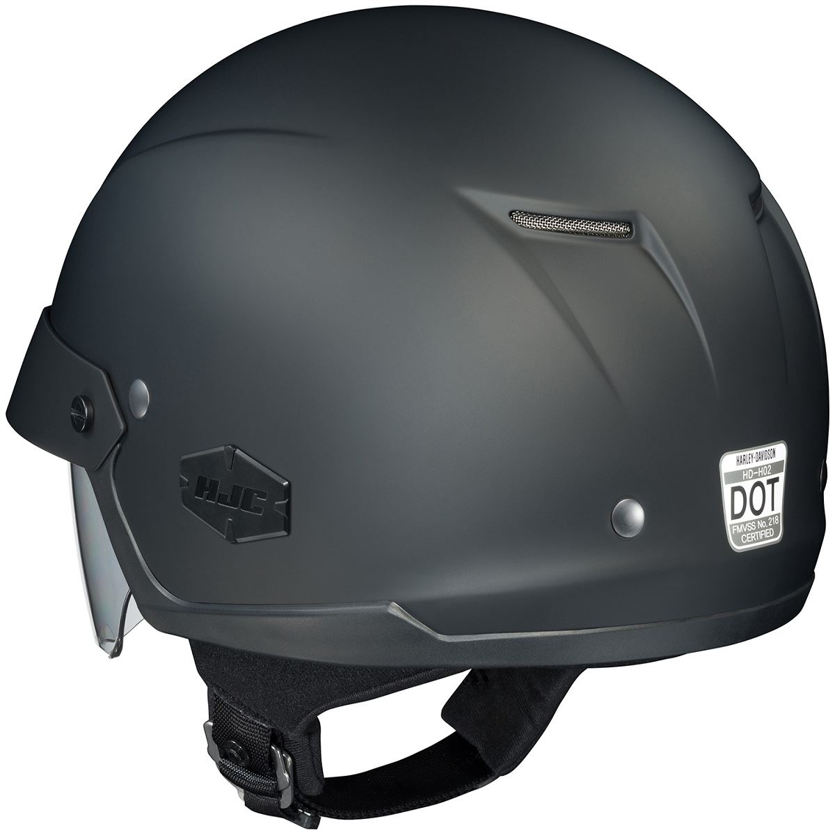 6d2e8462 HJC IS-Cruiser Helmet Half with Inner Sun Shield Motorcycle XS S M L ...
