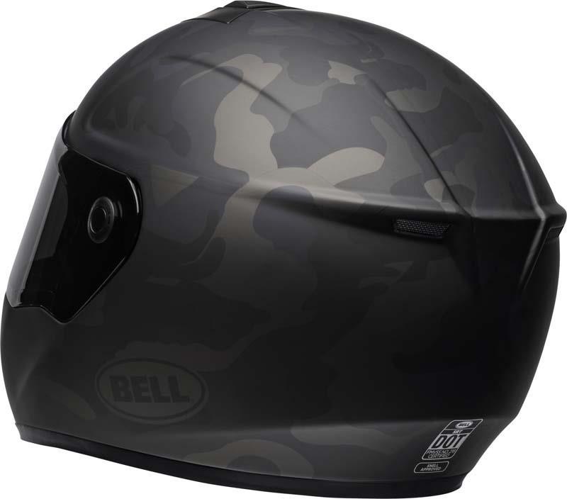 Bell-SRT-Helmet-Full-Face-Eyewear-Friendly-Fiberglass-DOT-SNELL-M2015-XS-2XL miniature 56