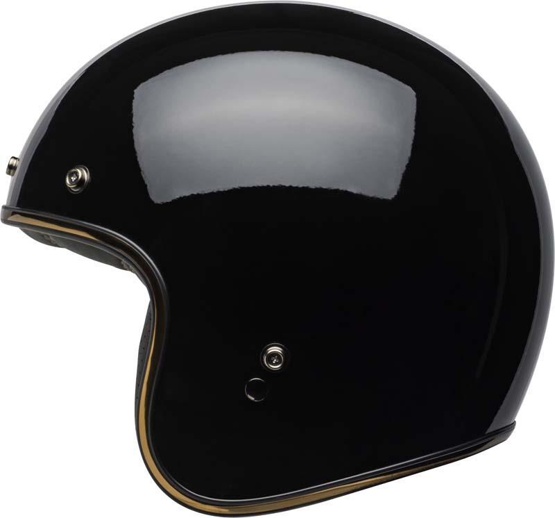 Bell-Custom-500-Helmet-3-4-Open-Face-Vintage-Retro-Motorcycle-5-Snap-XS-2XL miniature 52