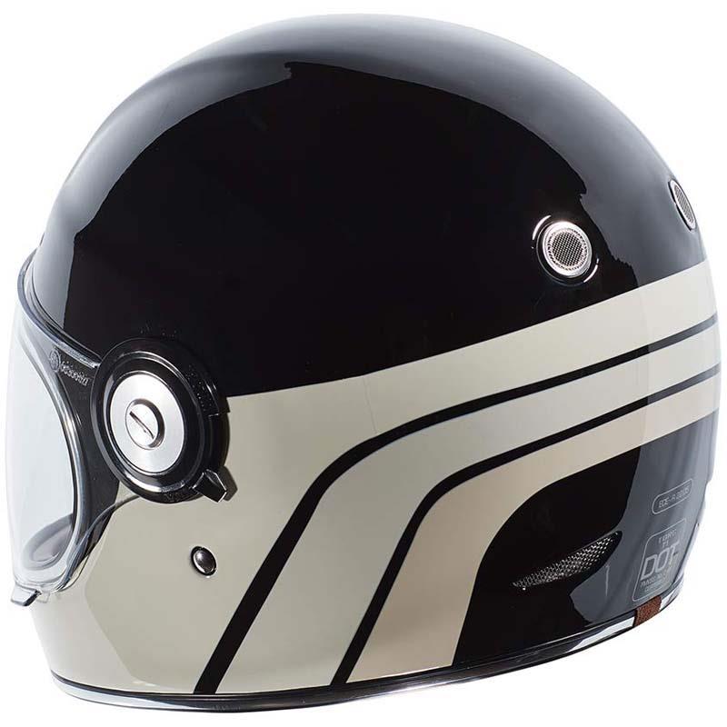 miniature 45 - Torc T1 Helmet Retro Vintage Style Fiberglass DOT Approved XS-2XL