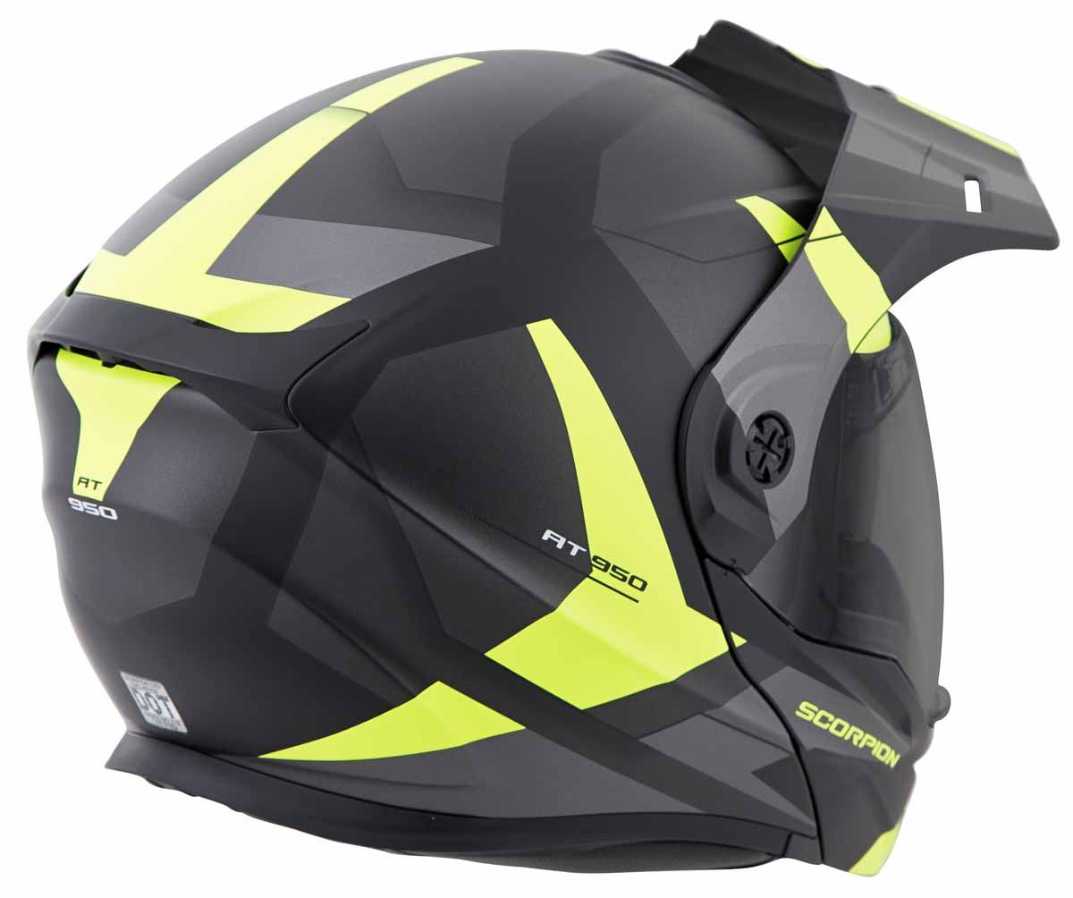 Scorpion-EXO-AT950-Helmet-Flip-Up-Modular-Dual-Sport-Adventure-ADV-DOT-XS-3XL miniature 41