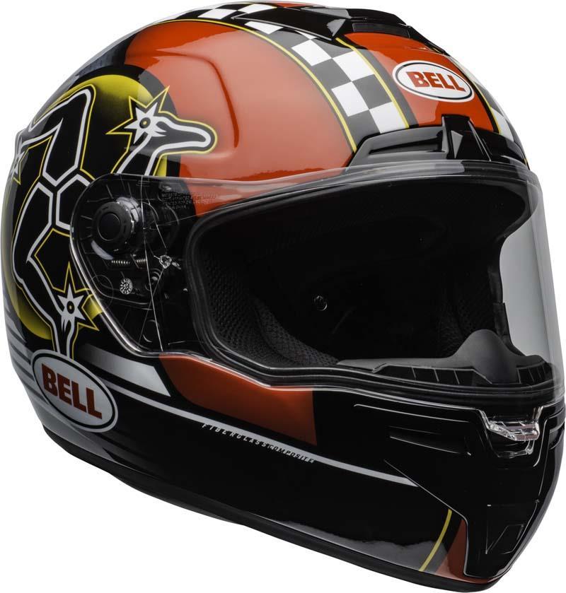 Bell-SRT-Helmet-Full-Face-Eyewear-Friendly-Fiberglass-DOT-SNELL-M2015-XS-2XL miniature 44