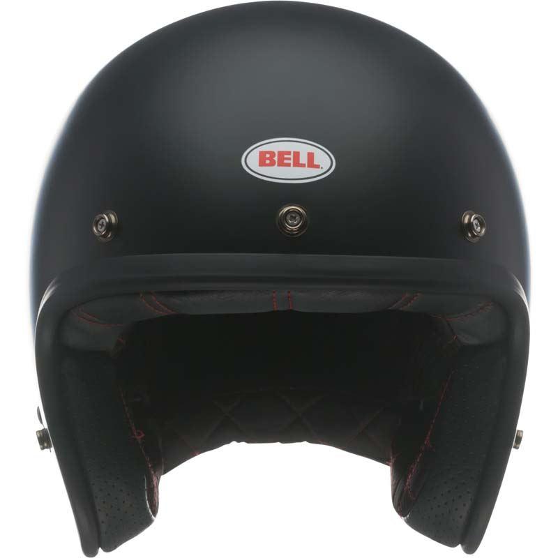 Bell-Custom-500-Helmet-3-4-Open-Face-Vintage-Retro-Motorcycle-5-Snap-XS-2XL miniature 10