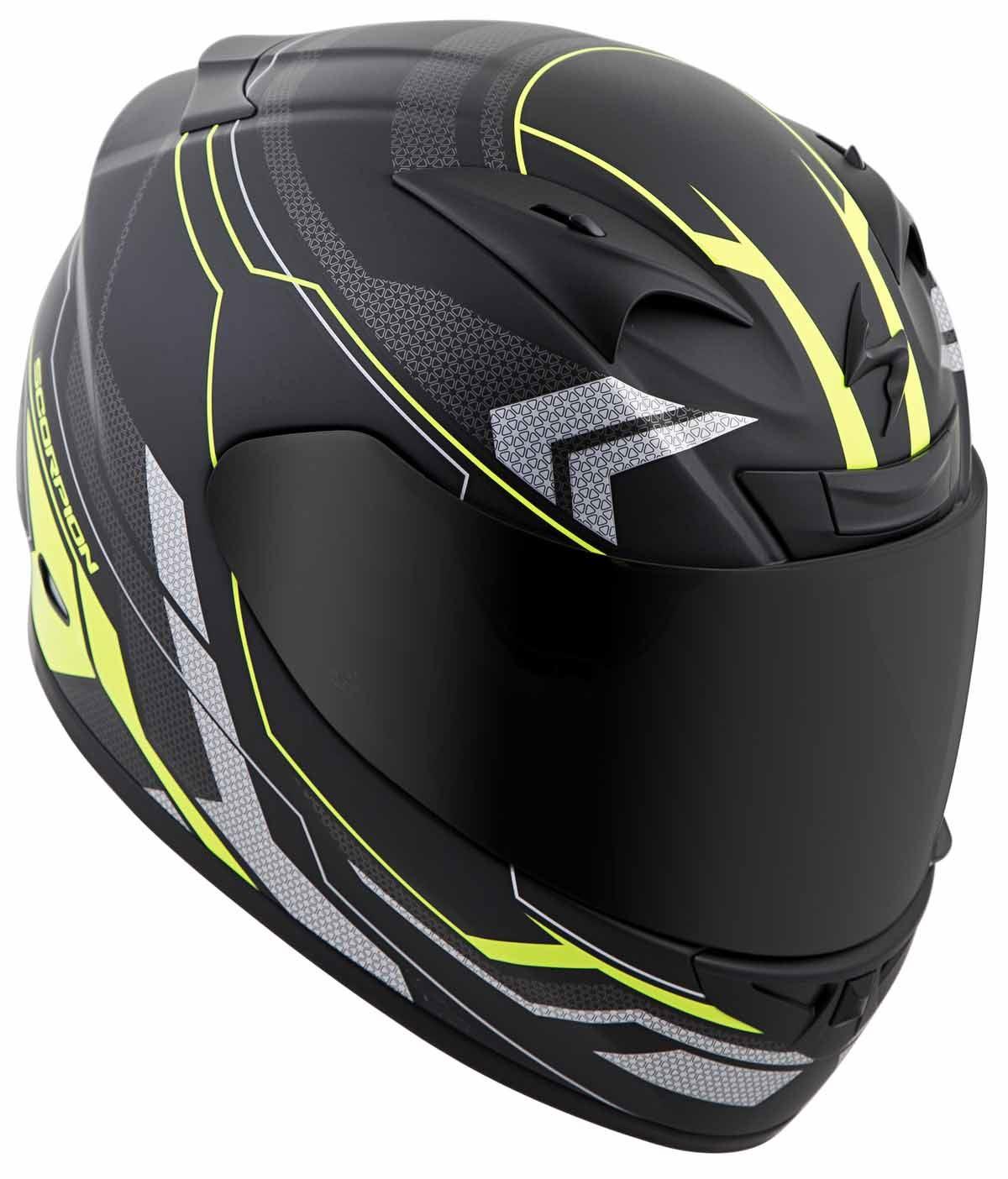 Scorpion-EXO-R710-Helmet-Fiberglass-Full-Face-DOT-SNELL-M2015-Certified-XS-2XL miniature 33