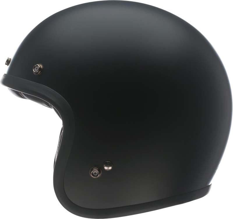 Bell-Custom-500-Helmet-3-4-Open-Face-Vintage-Retro-Motorcycle-5-Snap-XS-2XL miniature 11
