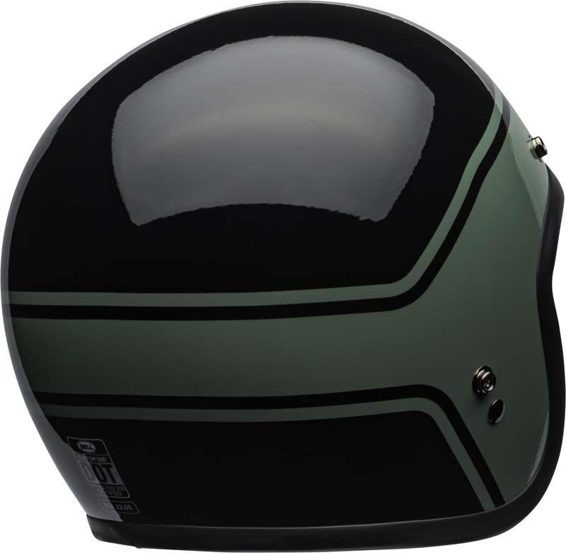 Bell-Custom-500-Helmet-3-4-Open-Face-Vintage-Retro-Motorcycle-5-Snap-XS-2XL miniature 33