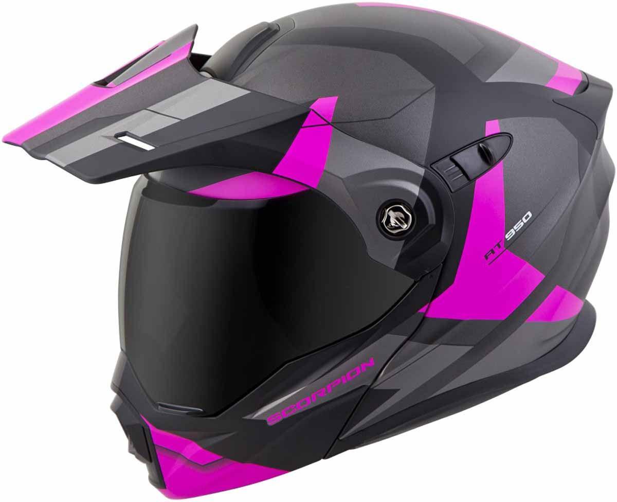 Scorpion-EXO-AT950-Helmet-Flip-Up-Modular-Dual-Sport-Adventure-ADV-DOT-XS-3XL miniature 43