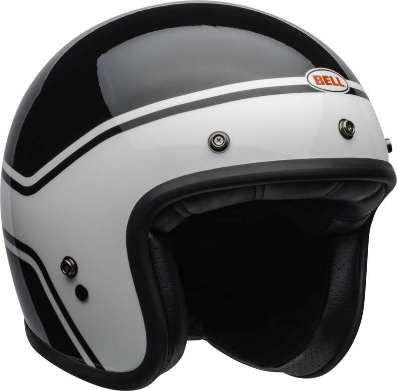Bell-Custom-500-Helmet-3-4-Open-Face-Vintage-Retro-Motorcycle-5-Snap-XS-2XL miniature 36