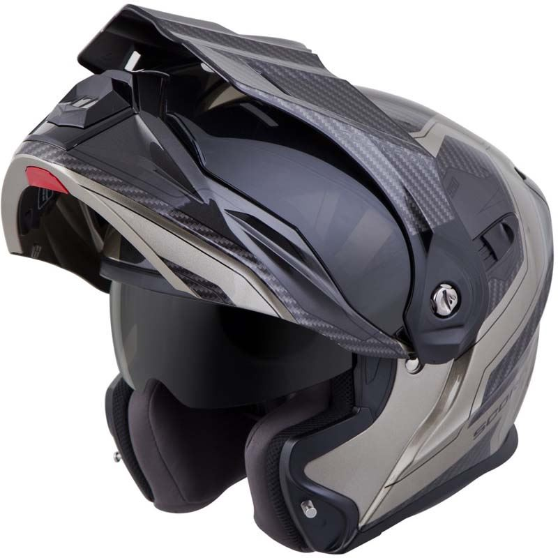 Scorpion-EXO-AT950-Helmet-Flip-Up-Modular-Dual-Sport-Adventure-ADV-DOT-XS-3XL miniature 68