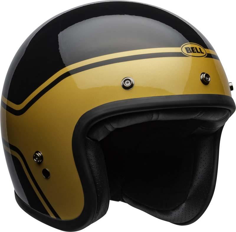 Bell-Custom-500-Helmet-3-4-Open-Face-Vintage-Retro-Motorcycle-5-Snap-XS-2XL miniature 43