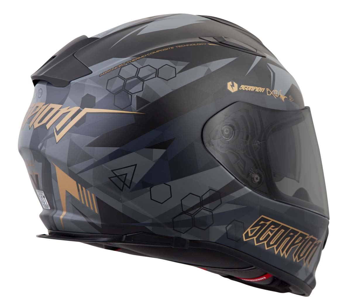 Scorpion-EXO-T510-Helmet-Full-Face-DOT-Approved-Inner-Sun-Shield miniature 47