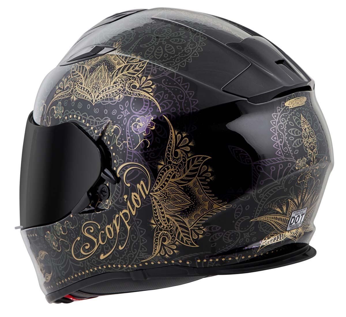 Scorpion-EXO-T510-Helmet-Full-Face-DOT-Approved-Inner-Sun-Shield miniature 65