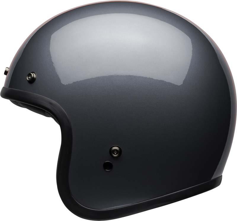 Bell-Custom-500-Helmet-3-4-Open-Face-Vintage-Retro-Motorcycle-5-Snap-XS-2XL miniature 60