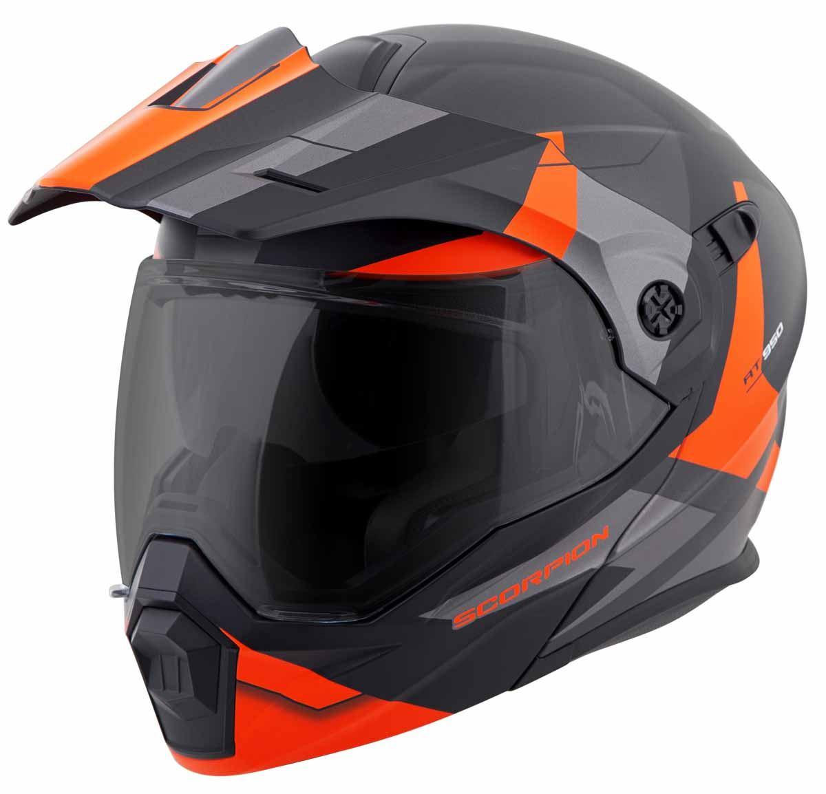 Scorpion-EXO-AT950-Helmet-Flip-Up-Modular-Dual-Sport-Adventure-ADV-DOT-XS-3XL miniature 50