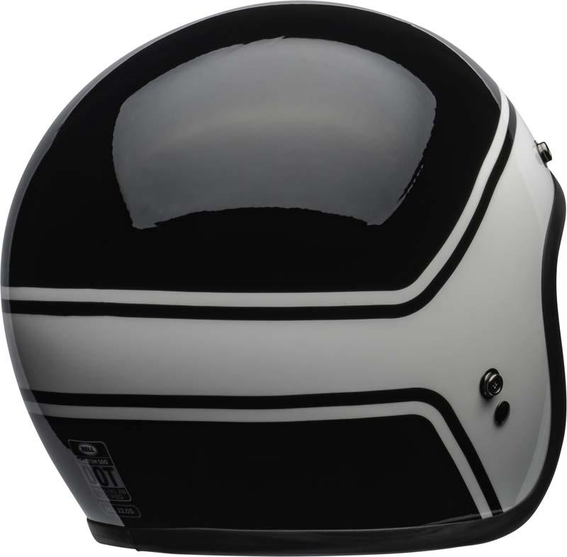 Bell-Custom-500-Helmet-3-4-Open-Face-Vintage-Retro-Motorcycle-5-Snap-XS-2XL miniature 39