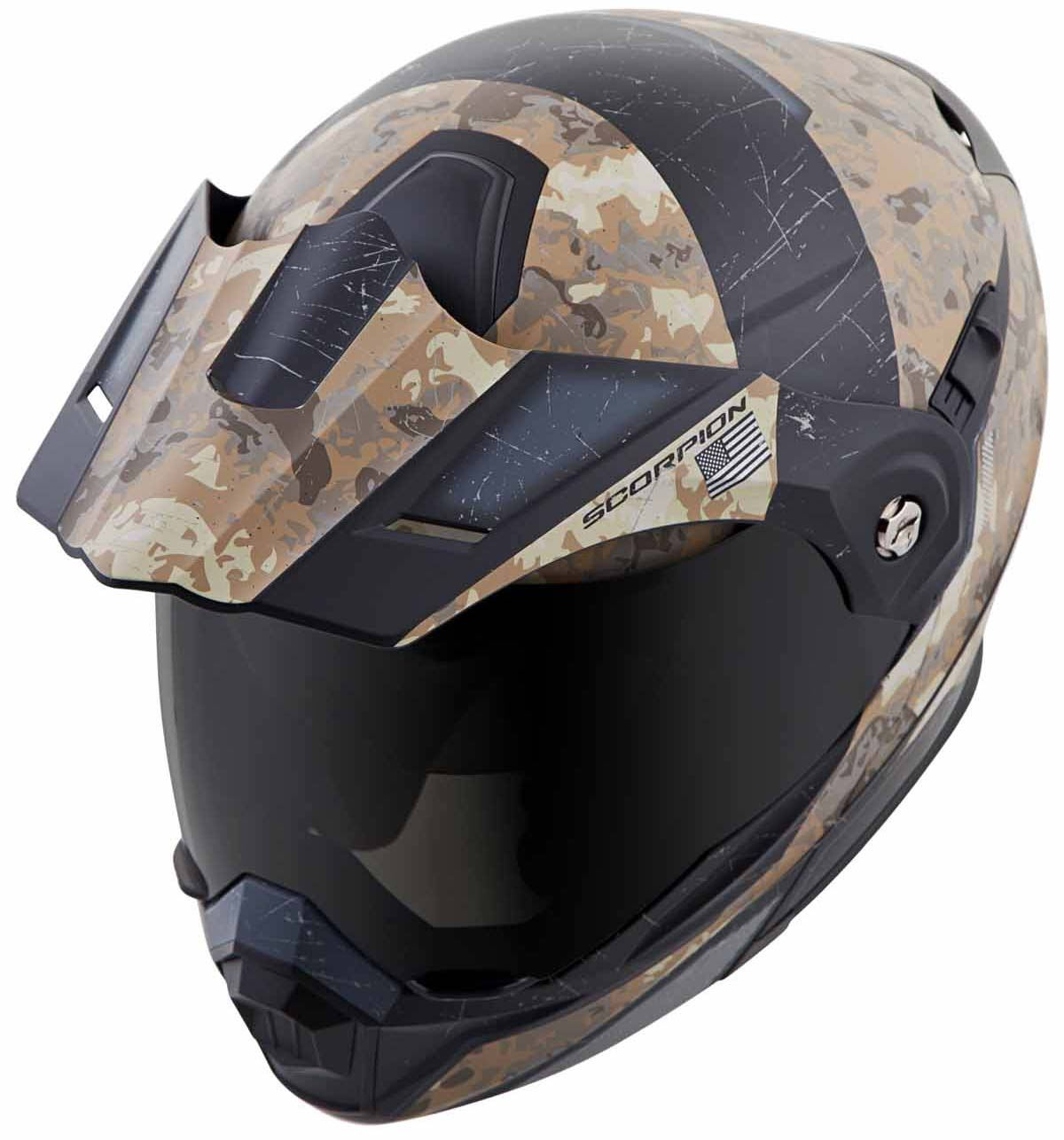Scorpion-EXO-AT950-Helmet-Flip-Up-Modular-Dual-Sport-Adventure-ADV-DOT-XS-3XL miniature 59