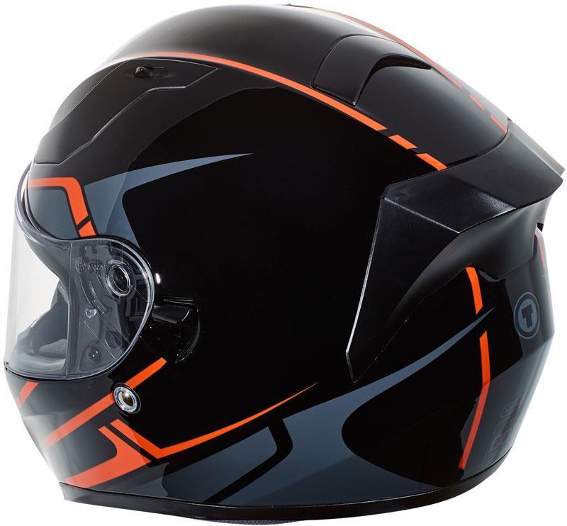 miniature 52 - Torc T15 T15B Helmet Bluetooth Blinc or without - Inner Sun Shield DOT XS-2XL