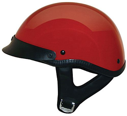 miniature 10 - HCI 100 Half Helmet Motorcycle Shorty with Visor DOT Approved XS S M L XL 2XL