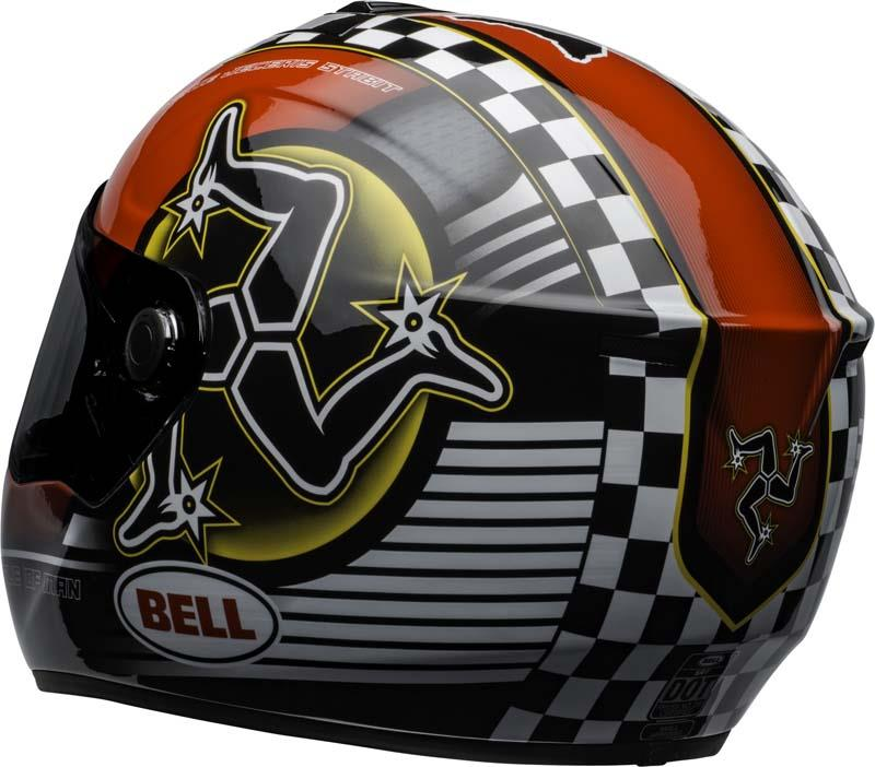 Bell-SRT-Helmet-Full-Face-Eyewear-Friendly-Fiberglass-DOT-SNELL-M2015-XS-2XL miniature 48