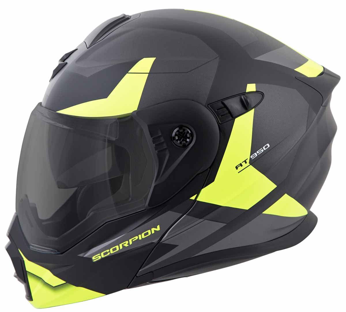 Scorpion-EXO-AT950-Helmet-Flip-Up-Modular-Dual-Sport-Adventure-ADV-DOT-XS-3XL miniature 39