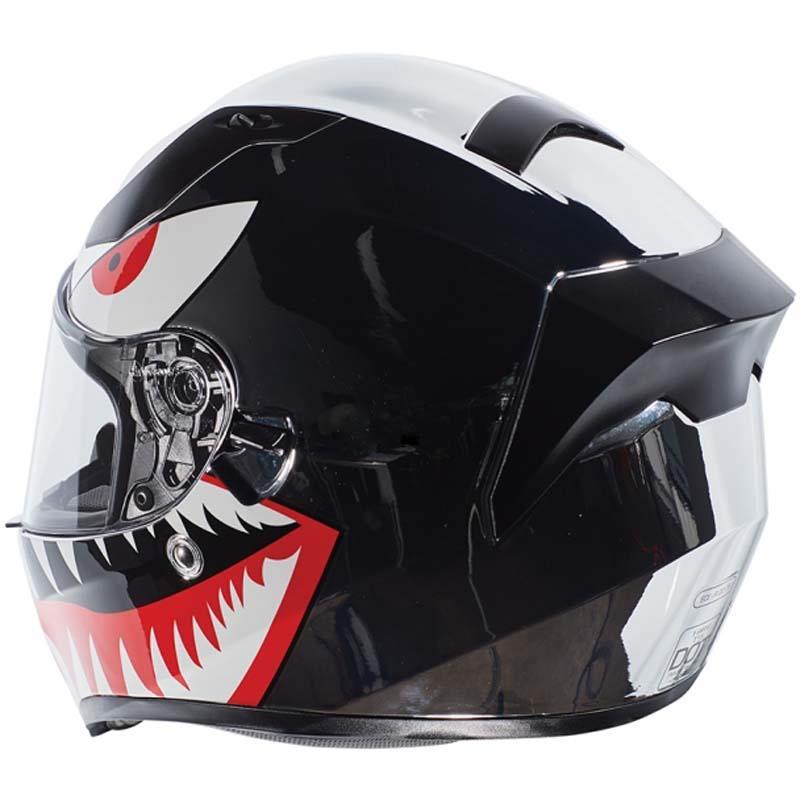 miniature 38 - Torc T15 T15B Helmet Bluetooth Blinc or without - Inner Sun Shield DOT XS-2XL